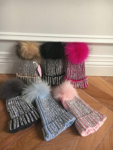 Crystal sparkling hats