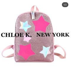 PINK STAR BACK PACK