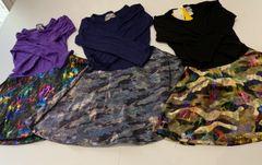 Long Sleeve Dori Dresses/ Shiny colorful camo flare bottom