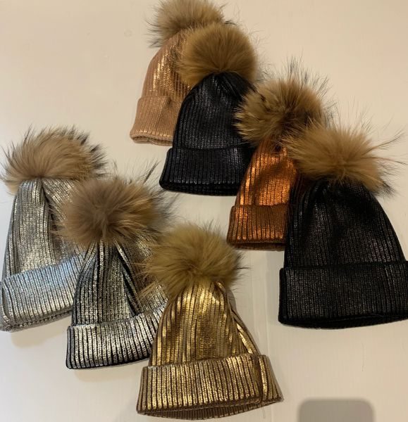 Metallic Hats
