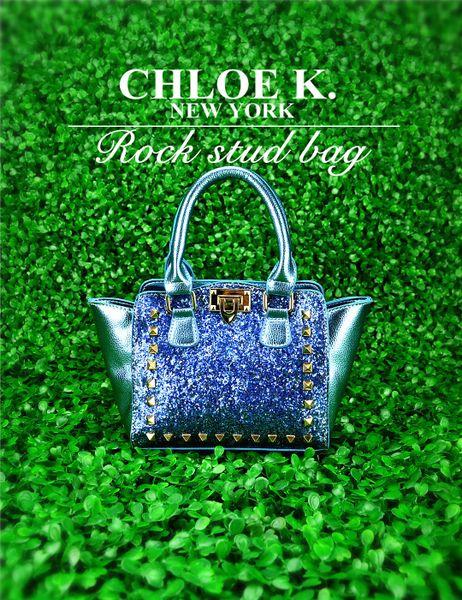'Glitter' rockstud bag