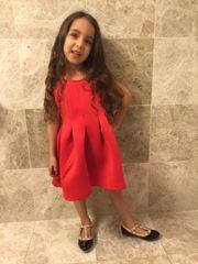 Red Scarlet dress