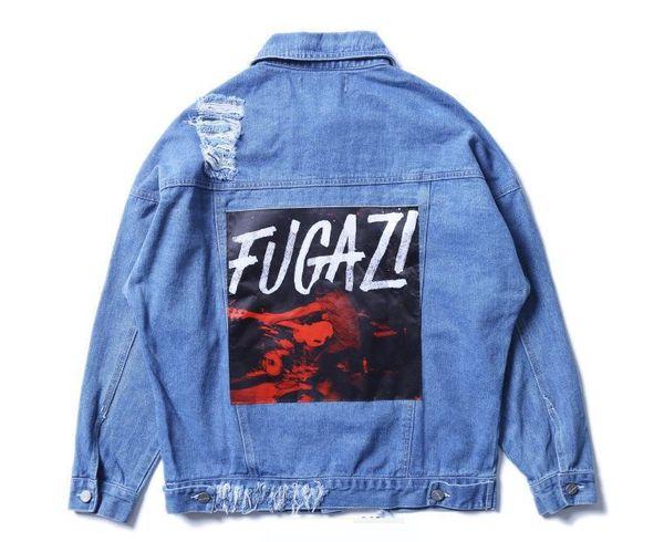 F U G A Z I Custom Denim Jean Jackets