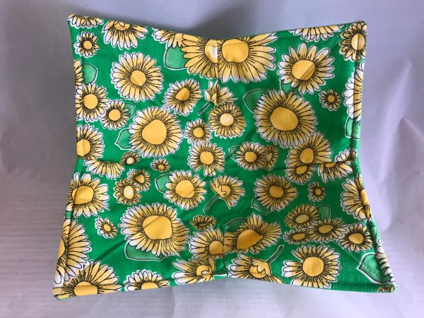 Microwaveable Bowl - Large Yellow Flowers