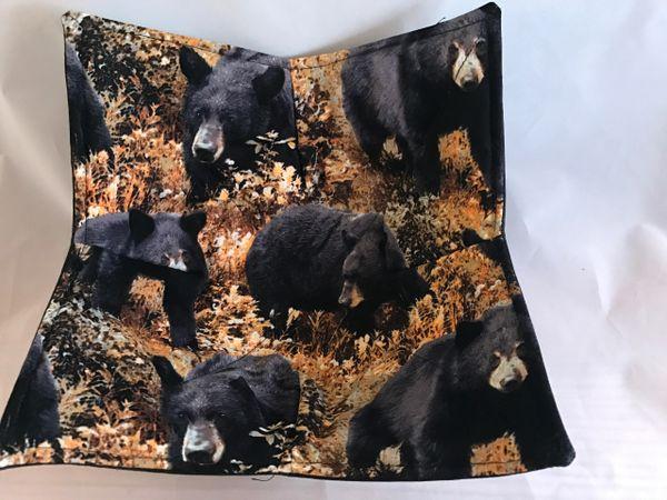 Microwaveable Bowl - Black Bears