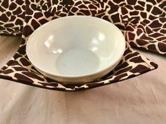 Microwaveable Bowl - Giraffe Print