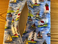 Baked Potato Bag / Sailboat & Lighthouse