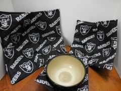 Microwaveable Bowl Cozy / Raiders