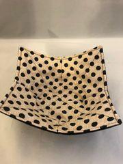 Microwaveable Bowl - Black Dots on Tan