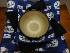 Microwaveable Bowl Cozy / Colts