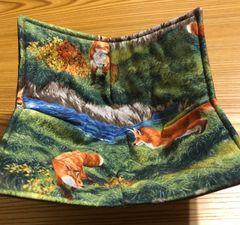 Microwaveable Bowl Cozy- Fox