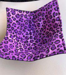Microwaveable Bowl - Purple Animal Print