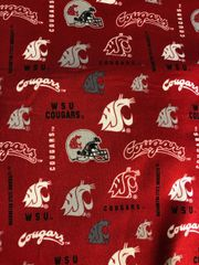 Microwaveable Bowl Cozy / Washington STATE COUGARS