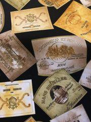 Microwaveable Bowl Cozy- Wine Labels