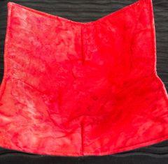Microwaveable Bowl Cozy - Batiks Red Drizzle