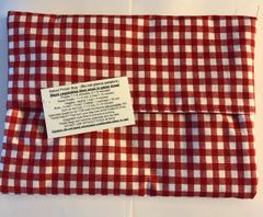 Baked Potato Bag / Red Checks