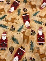 Microwaveable Bowl - Santa and Deer