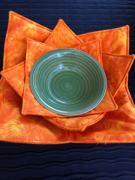 Microwaveable Bowl - Orange Mix
