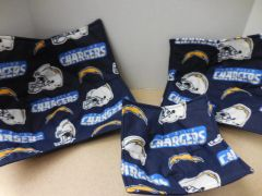Microwaveable Bowl Cozy / San Diego Chargers