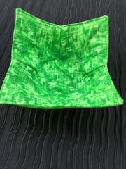 Microwaveable Bowl - Crosshatch Emerald
