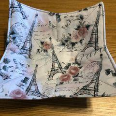 Microwaveable Bowl -Glitter Eiffel Tower