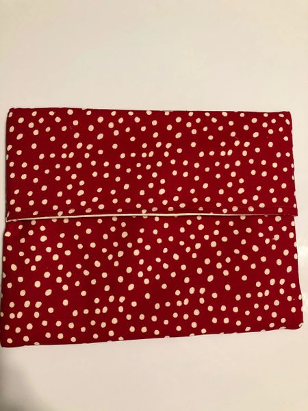 Baked Potato Bag / White Dots on Red