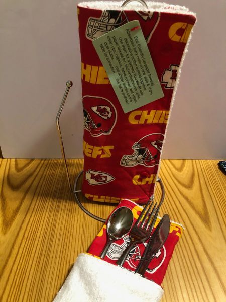 Un-Paper Towels KC Chiefs; Made in the USA!