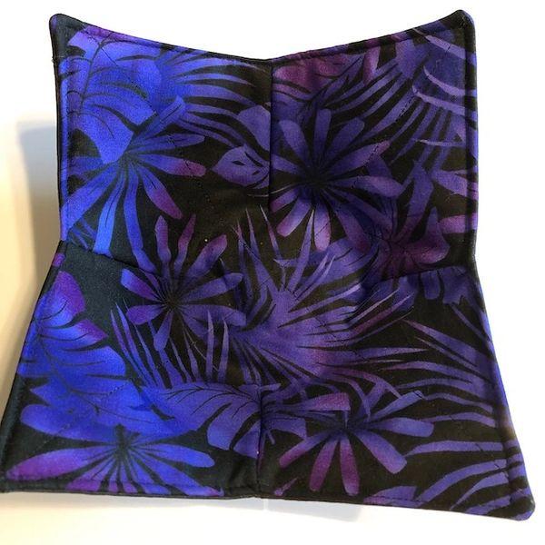 Microwaveable Bowl - Purple Tropics