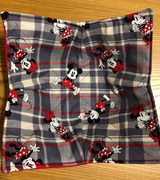 Microwaveable Bowl - Mickey and Minnie Plaid