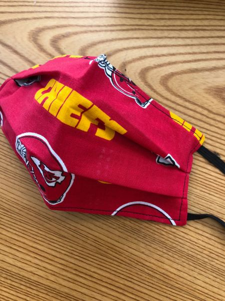 FACE MASK -- CHIEFS
