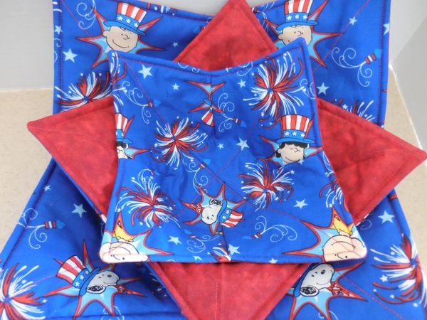 Microwaveable Bowl - Snoopy Fireworks