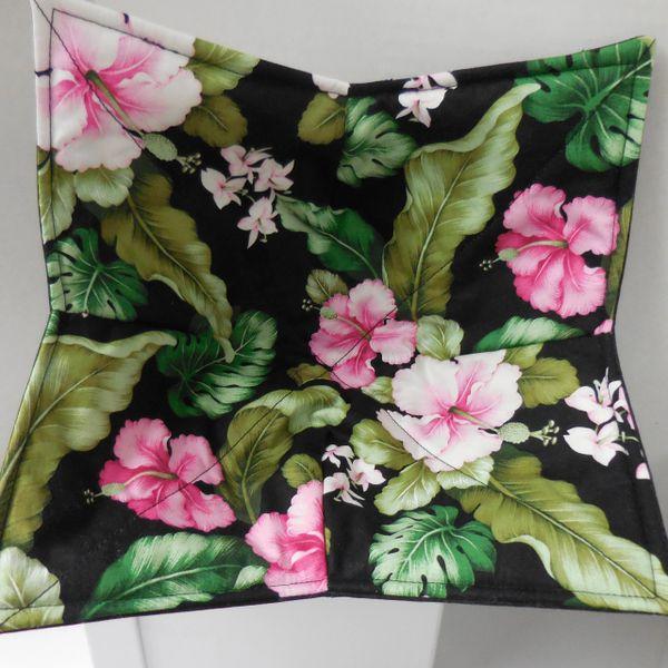 Microwaveable Bowl - Fuchsia Hibiscus
