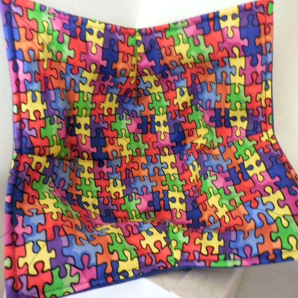 Microwaveable Bowl - Puzzle Pieces