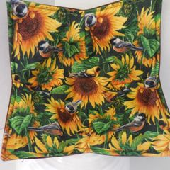Microwaveable Bowl - Sunflower and Birds