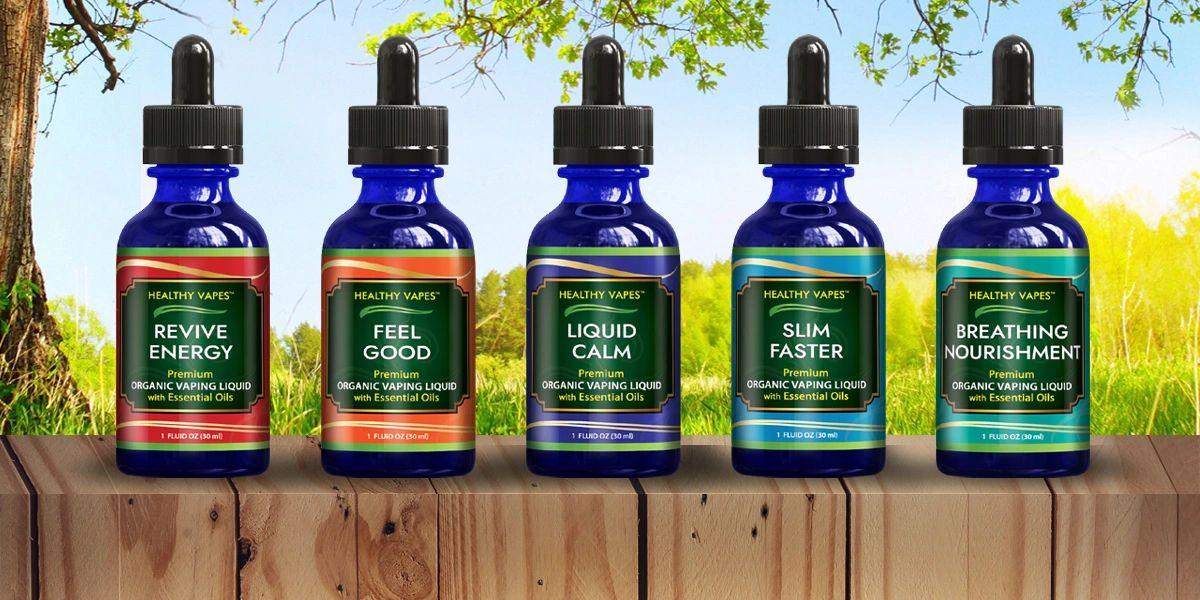 Vape Juice with benefits - World's Best Healthy Vape Juice