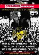 Geoff Tate Australia Australian tour 2020 Operation Mindcrime hardline media queensryche