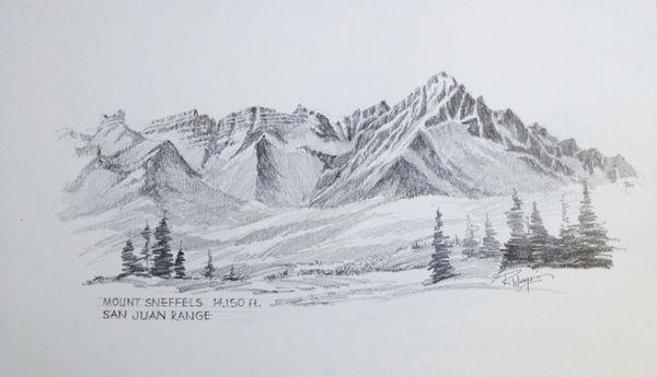 Mount Sneffels - 14,150