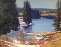 Grand Mesa Lake 14x18
