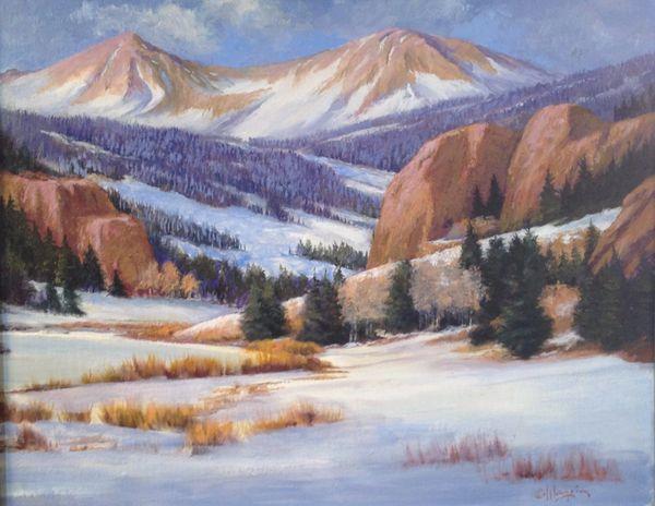 Cripple Creek Winter 16x20