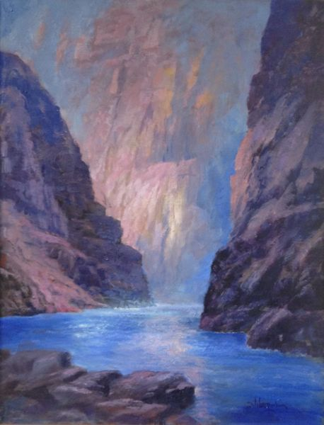 Shadows in the Canyon 18x14