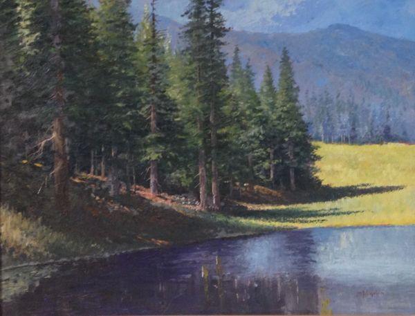 Mountain Pond 13x17