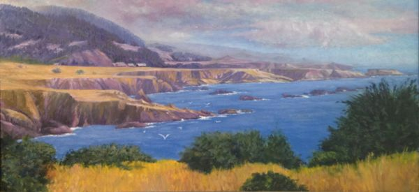 Cuffey's Cove, Pacific Coast 18 x 36 SOLD