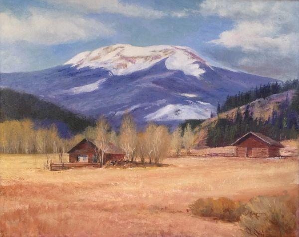 Buffalo Peaks 16x20