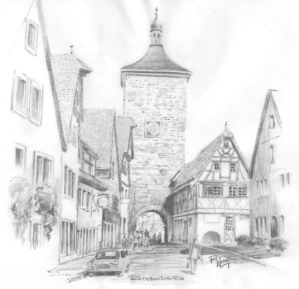 The Tower of Klingen Gate