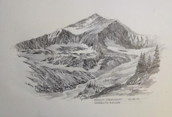 Mt. Democrat - 14,148'