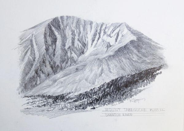 Mt. Tabegauche - 14,155'