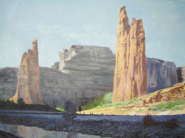 "Spider Rock, Canyon de Chelly 16"" x 20"" SOLD"