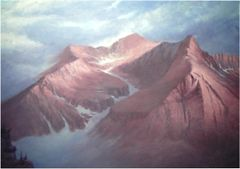 "Mount Bierstadt - 14,060 Feet 30"" x 40"""