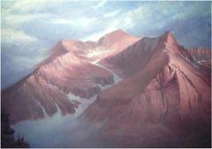 "Mount Bierstadt - 14,060 Feet 30"" x 40"""