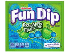 Wonka Fun Dip Lik-M-Aid Razz Apple